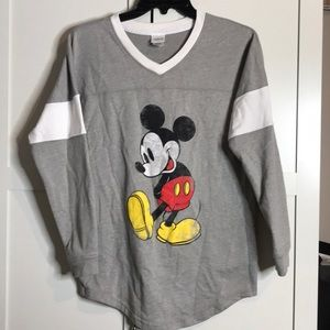 Disney Mickey Mouse Long Sleeve Top Small